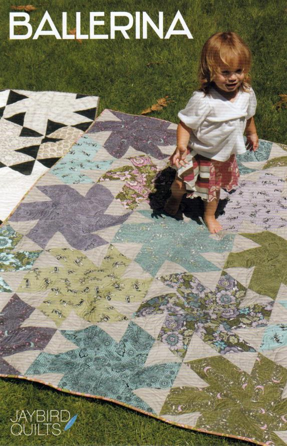 Ballerina quilt sewing pattern from Jaybird Quilts