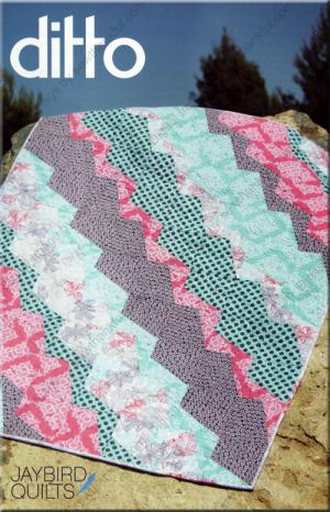 Ditto quilt sewing pattern from Jaybird Quilts