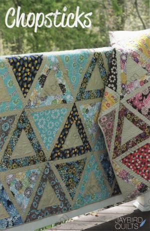 Chopsticks quilt pattern from Jaybird Quilts