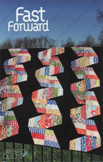 Fast Forward quilt pattern from Jaybird Quilts