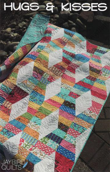 Hugs and Kisses quilt pattern from Jaybird Quilts
