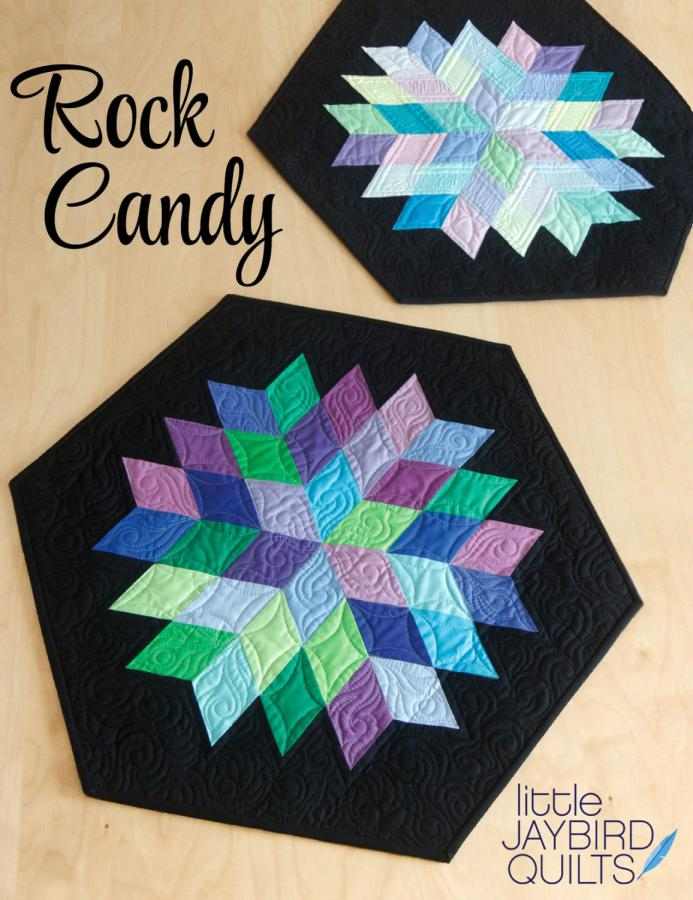 Rock Candy quilt sewing pattern from Jaybird Quilts