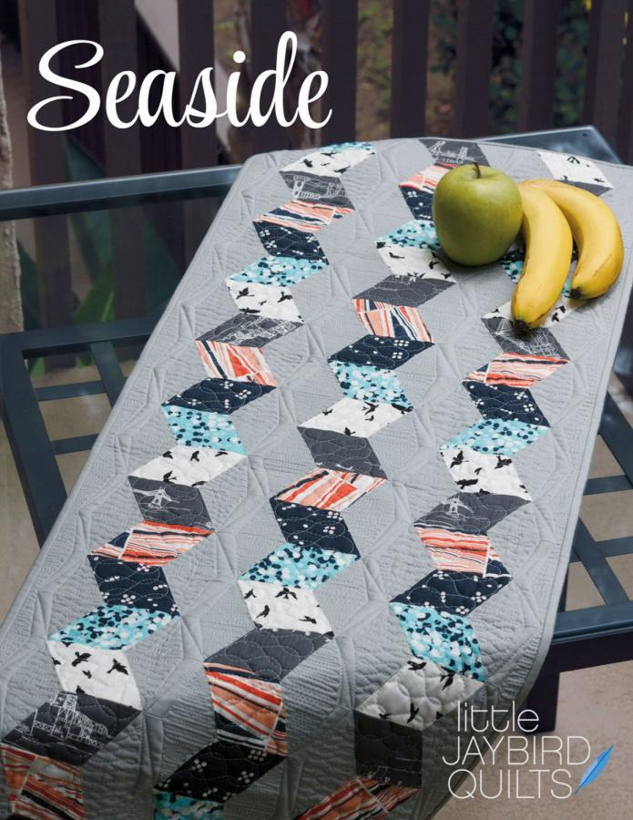 Seaside quilt sewing pattern from Jaybird Quilts