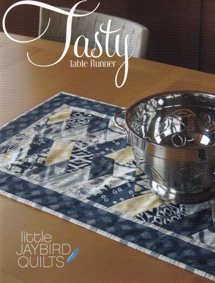 Tasty Table Runner quilt pattern from Jaybird Quilts