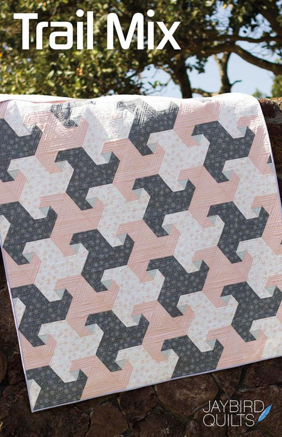 Trail Mix quilt sewing pattern from Jaybird Quilts