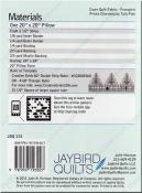 Jawbreaker sewing pattern from Jaybird Quilts 1