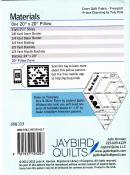 Jawbreaker sewing pattern from Jaybird Quilts 1