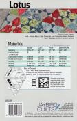 Lotus quilt sewing pattern from Jaybird Quilts 1