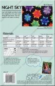 Night Sky quilt sewing pattern from Jaybird Quilts 1