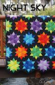 Night Sky quilt sewing pattern from Jaybird Quilts