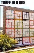 Three In A Box quilt sewing pattern from Jaybird Quilts