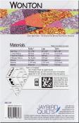 Wonton quilt pattern from Jaybird Quilts 1