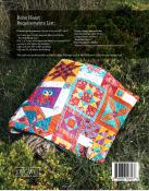 INVENTORY REDUCTION...Boho Heart quilt sewing booklet pattern by Jen Kingwell and Andrea Bair for Jen Kingwell Designs 1