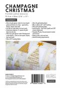 Champagne Christmas pillow cover sewing pattern by Louise Papas for Jen Kingwell Designs Collective 1