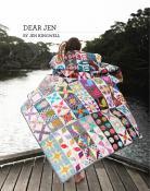 Dear Jen quilt sewing pattern booklet by Jen Kingwell