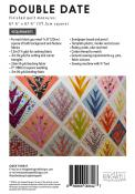 Double Date quilt sewing pattern by Jen Kingwell for Jen Kingwell Designs Collective 1