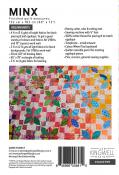 Minx quilt sewing pattern by Michelle McKillop for Jen Kingwell Designs Collective 1