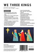 We Three Kings pillow sewing pattern by Louise Papas for  Jen Kingwell Designs Collective 1