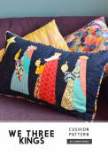 We Three Kings pillow sewing pattern by Louise Papas for  Jen Kingwell Designs Collective