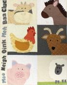 Baby Farm Animals quilt sewing pattern from Jennifer Jangles 2