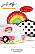 Clamshell Bags sewing pattern from Jennifer Jangles