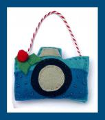 Felt Holiday Ornaments Hobby and Craft sewing pattern from Jennifer Jangles 3
