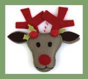 Felt Holiday Ornaments sewing pattern from Jennifer Jangles 2