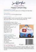 Happy Camper Bag sewing pattern from Jennifer Jangles 1