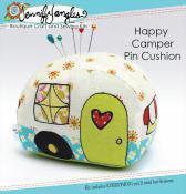 Happy Camper Pincushion KIT & sewing pattern from Jennifer Jangles