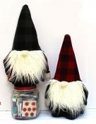 INVENTORY REDUCTION...Holiday Gnome Softie soft toy sewing pattern from Jennifer Jangles 3