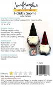 INVENTORY REDUCTION...Holiday Gnome Softie soft toy sewing pattern from Jennifer Jangles 1
