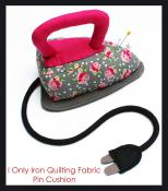 I Only Iron Quilting Fabric Pincushion sewing pattern from Jennifer Jangles 2