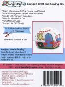 Kitschy Camper Pincushion Kit sewing pattern from Jennifer Jangles 1
