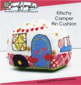 Kitschy Camper Pincushion Kit sewing pattern from Jennifer Jangles