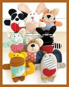 Little Love Buddies soft toy sewing pattern from Jennifer Jangles 2