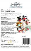 Little Love Buddies soft toy sewing pattern from Jennifer Jangles 1