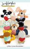 Little Love Buddies soft toy sewing pattern from Jennifer Jangles