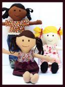 Make a Friend Doll sewing pattern from Jennifer Jangles 2