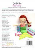 Megan Mermaid Make a Friend doll sewing pattern from Jennifer Jangles 1