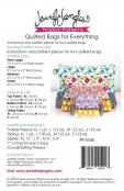Quilted Bags for Everything sewing pattern from Jennifer Jangles 1