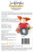 Quilting Friends softie sewing pattern from Jennifer Jangles 1
