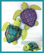 Sea Turtle Softie soft toy sewing pattern from Jennifer Jangles 2