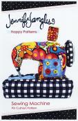 Sewing Machine Pincushion sewing pattern from Jennifer Jangles