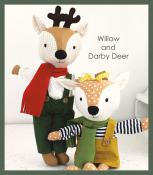 Willow and Darby Deer Make a Friend Doll/Soft Toy sewing pattern from Jennifer Jangles 2