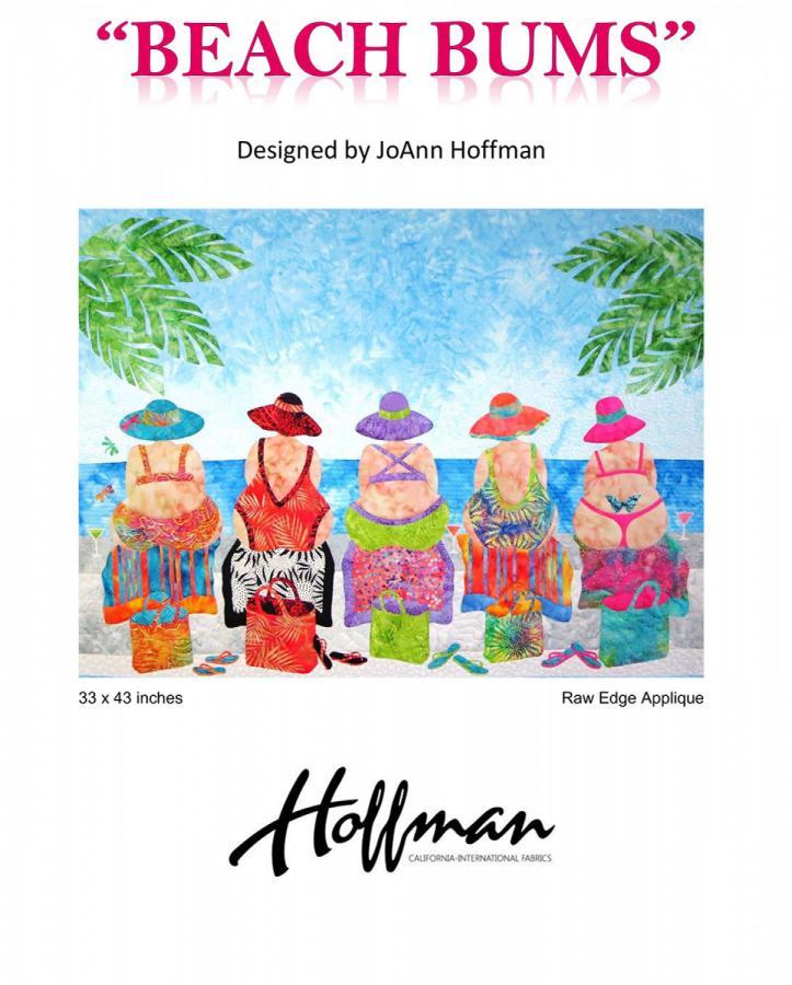 Beach Bums quilt sewing pattern from JoAnn Hoffman Designs