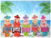 Beach Bums quilt sewing pattern from JoAnn Hoffman Designs 2