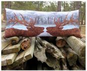 Close Encounters Bench Pillow & Table Runner sewing pattern from JoAnn Hoffman Designs 2