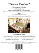 Dream Catcher Bed Runner sewing pattern from JoAnn Hoffman Designs 1