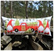 Gnome for the Holidays Bench Pillow & Table Runner sewing pattern from JoAnn Hoffman Designs 2
