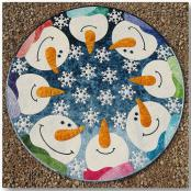 Kisses From Heaven Circular Quilt/Table Topper sewing pattern from JoAnn Hoffman Designs 2